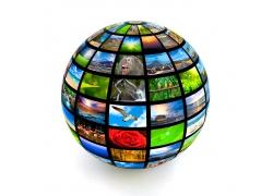 保护地球创意广告图片