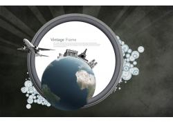 潮流元素边框素材图片