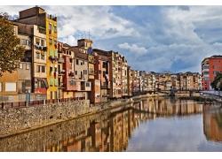 旅游城市建筑物摄影图