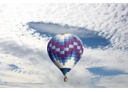 热气球升空摄影