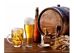 啤酒广告素材