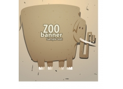 可爱大象卡通图片