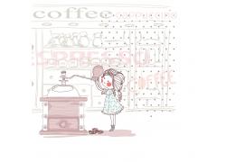 插画女孩图片