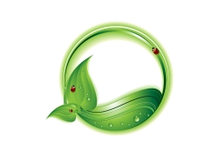 绿色条幅素材