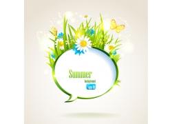 夏日促销背景