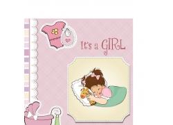 可爱卡通女孩图片