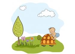 可爱卡通儿童画图片
