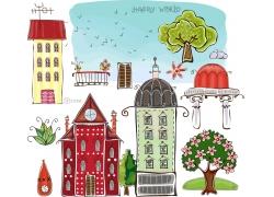 儿童插画素材图片