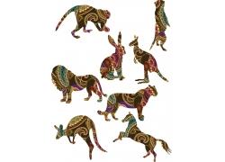 动物插画图片