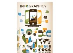 信息图形和图表矢量素材