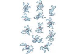 可爱卡通兔子图片