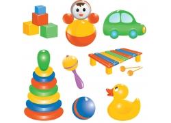 儿童玩具图标设计图片