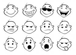 可爱卡通表情图片