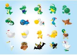 动物插画设计素材图片
