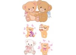 卡通熊设计素材图片