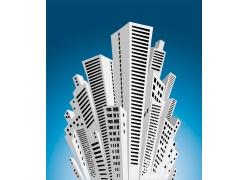 矢量创意楼房设计素材图片