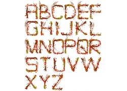 彩色字体设计素材图片