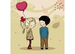 卡通情侣图片