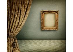 墙壁上的相框画框相框
