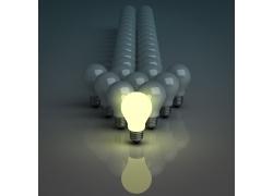 灯泡箭头设计