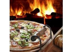 美味的意大利比萨