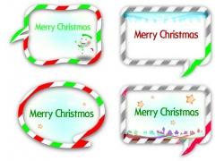 圣诞节标签素材