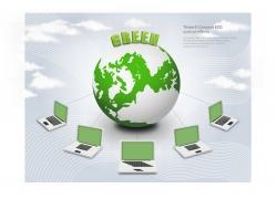 地球保护概念海报