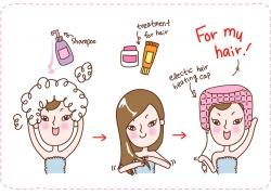 美容护肤女孩图片