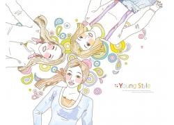 卡通女孩图片