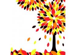 秋天树木素材