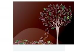 手绘树木素材
