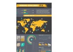 信息图形矢量素材