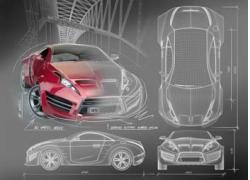 汽车设计图片素材