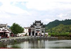 古建筑旅游风景