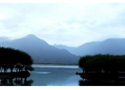 湖泊风景摄影
