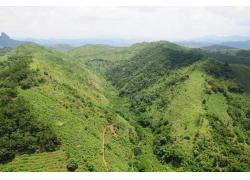 山峰自然风景