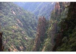 自然山峰风景
