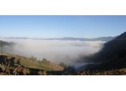 自然雾景摄影