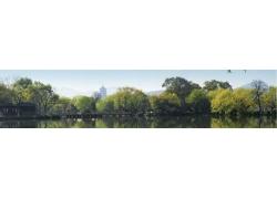 湖边风光摄影
