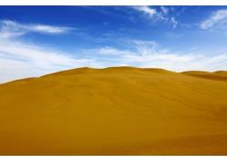金色沙漠风景