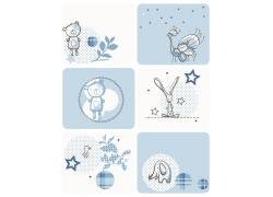 儿童插画背景素材图片