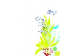 儿童插画背景图片