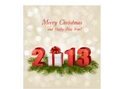 圣诞贺卡立体2013