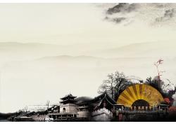 中国风底纹背景设计素材