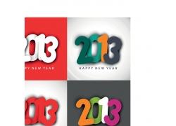 2013新年字体