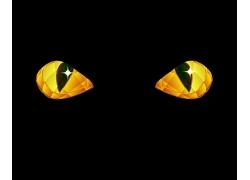 矢量蛇眼睛设计