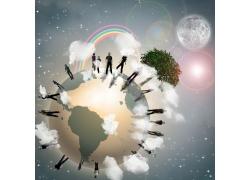 环保概念海报