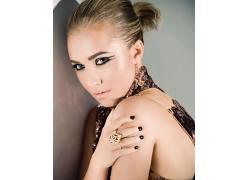 化妆美女明星偶像