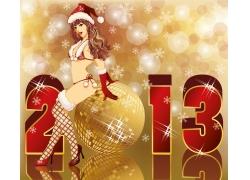 2013圣诞节海报
