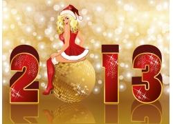 2013新年圣诞节海报